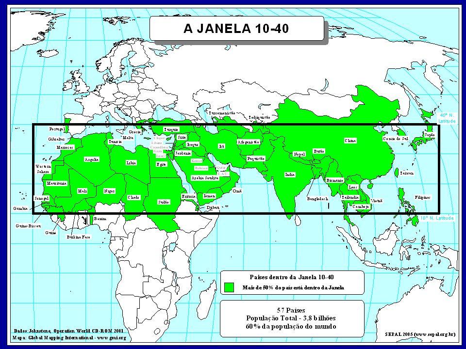1. A primeira e fundamental razão porque os cristãos devem focalizar a JANELA 10/40 é por causa do significado bíblico e histórico dessa área. Realmente, a Bíblia começa com a explicação que Adão e Eva foram colocados por Deus no coração do que agora é a JANELA 10/40 . O plano de Deus expresso em Gênesis 1.26, é que os seres humanos teriam domínio sobre a terra e deveriam preenchê-la. E quando Adão e Eva pecaram perante Deus perderam seu domínio sobre a terra.
