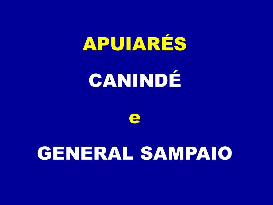 APUIARÉS CANINDÉ e GENERAL SAMPAIO