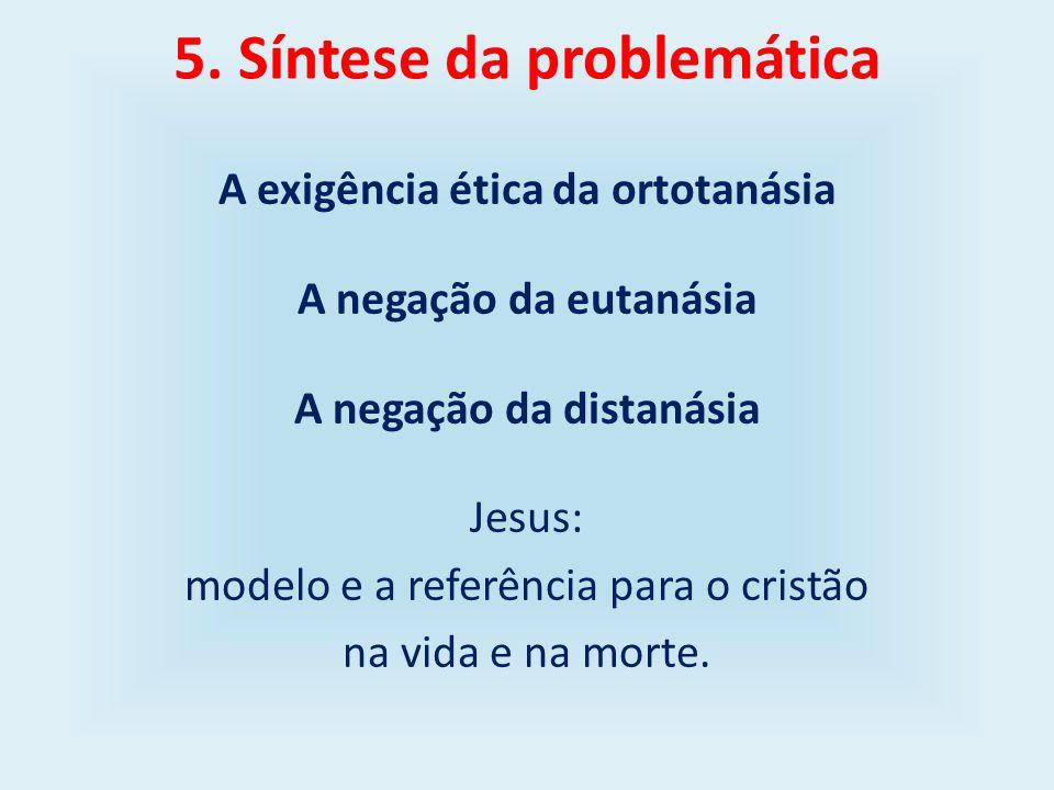 5. Síntese da problemática