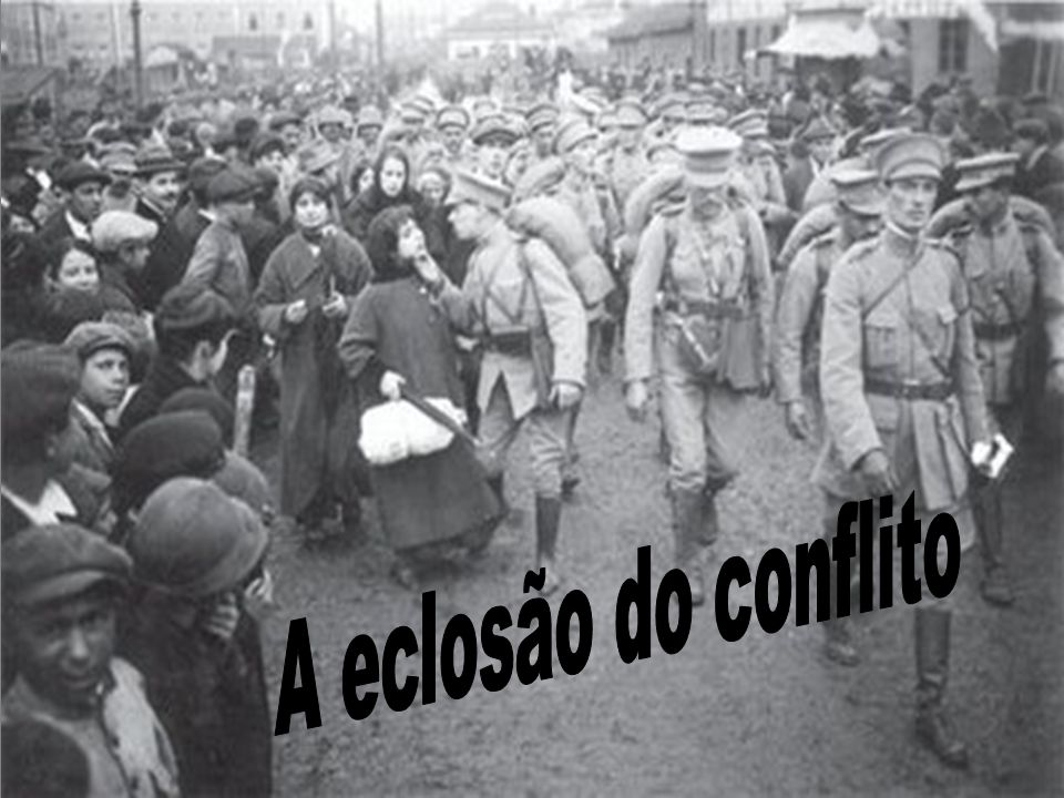 A eclosão do conflito