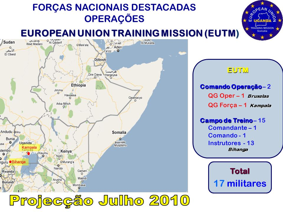 EUROPEAN UNION TRAINING MISSION (EUTM)