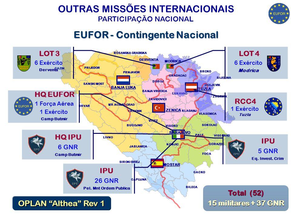 EUFOR - Contingente Nacional