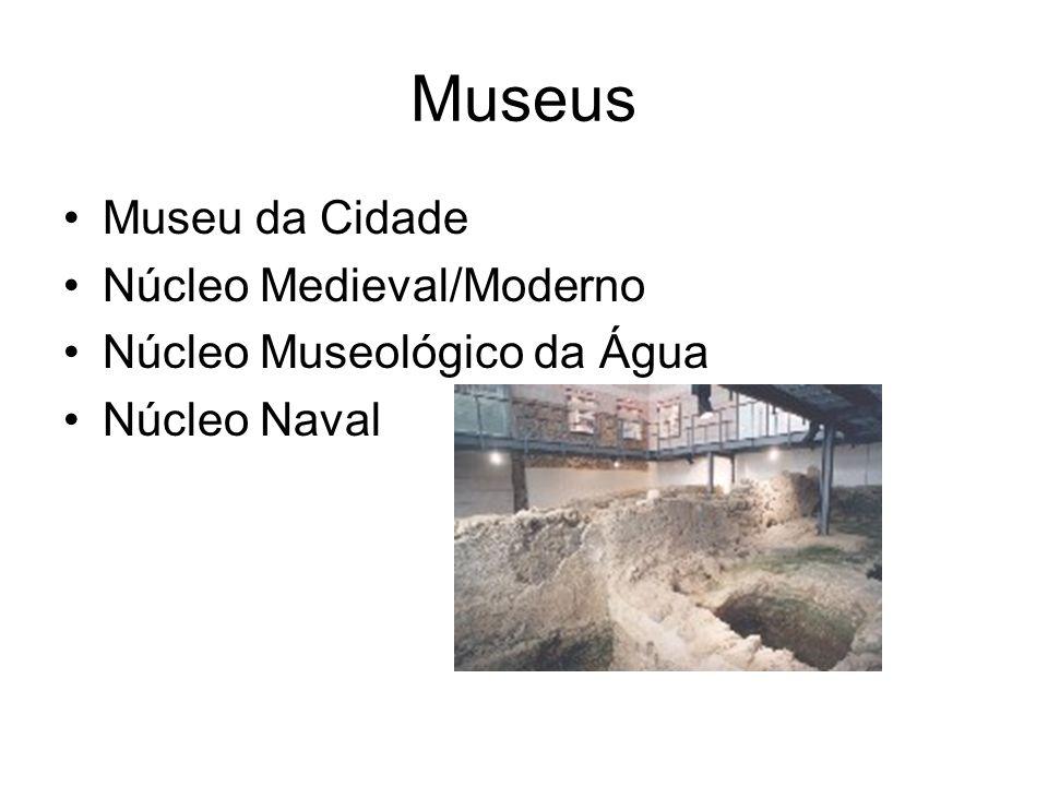 Museus Museu da Cidade Núcleo Medieval/Moderno