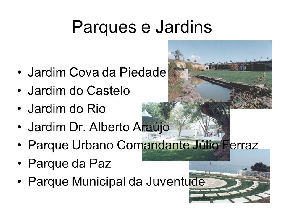 Parques e Jardins Jardim Cova da Piedade Jardim do Castelo