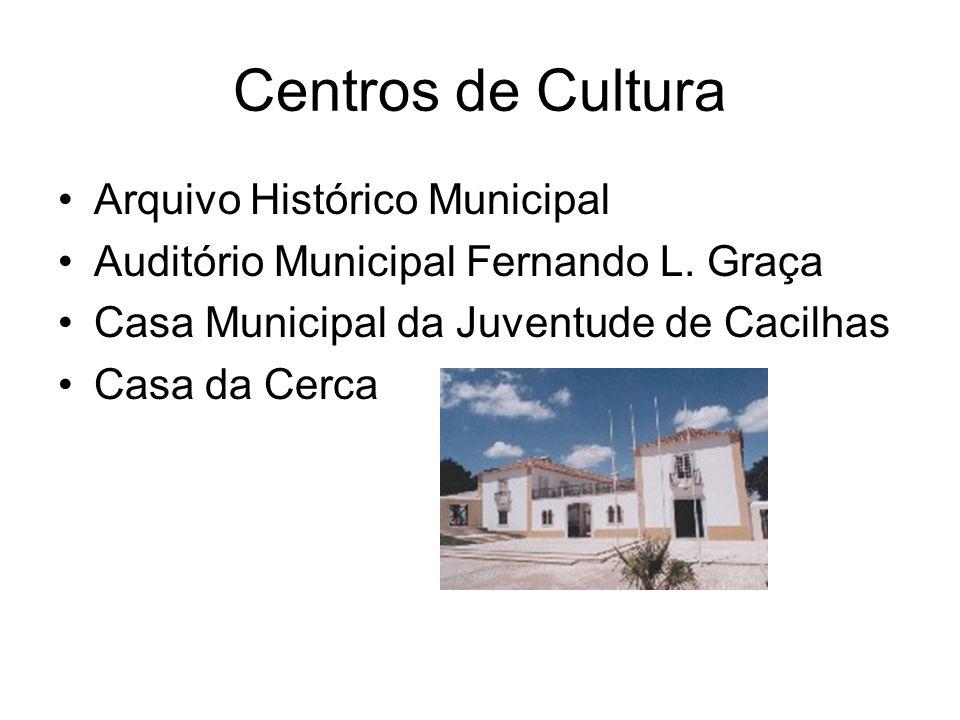 Centros de Cultura Arquivo Histórico Municipal