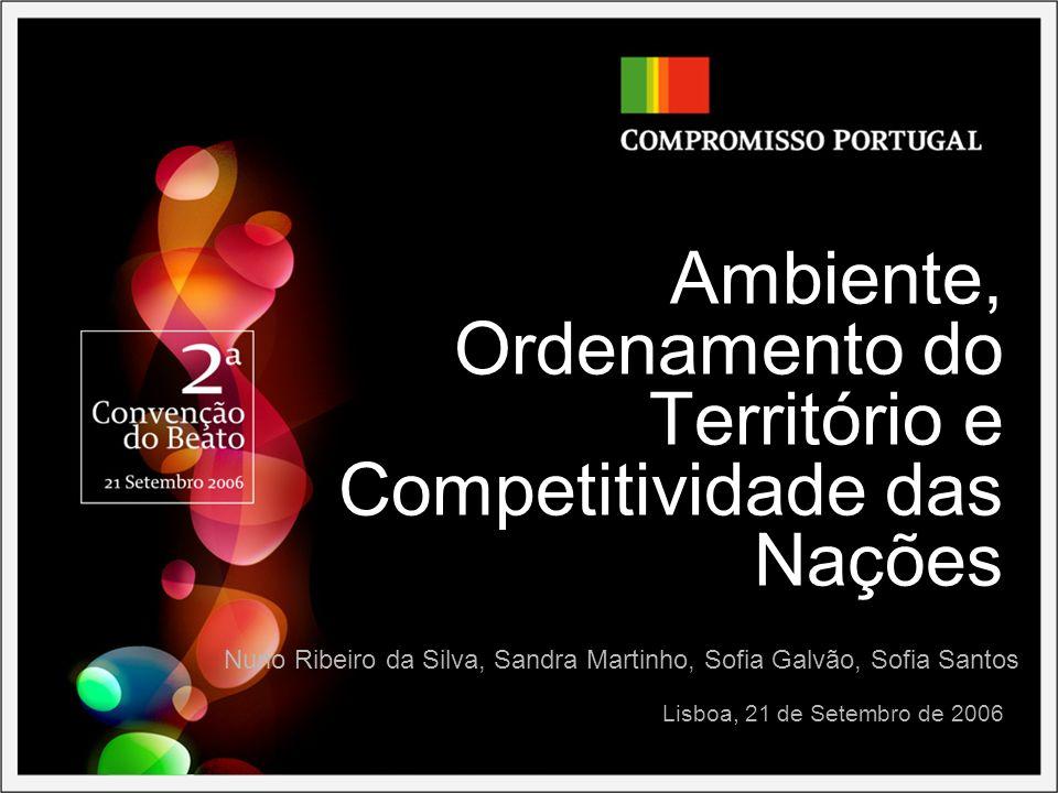 Ambiente, Ordenamento do Território e Competitividade das Nações