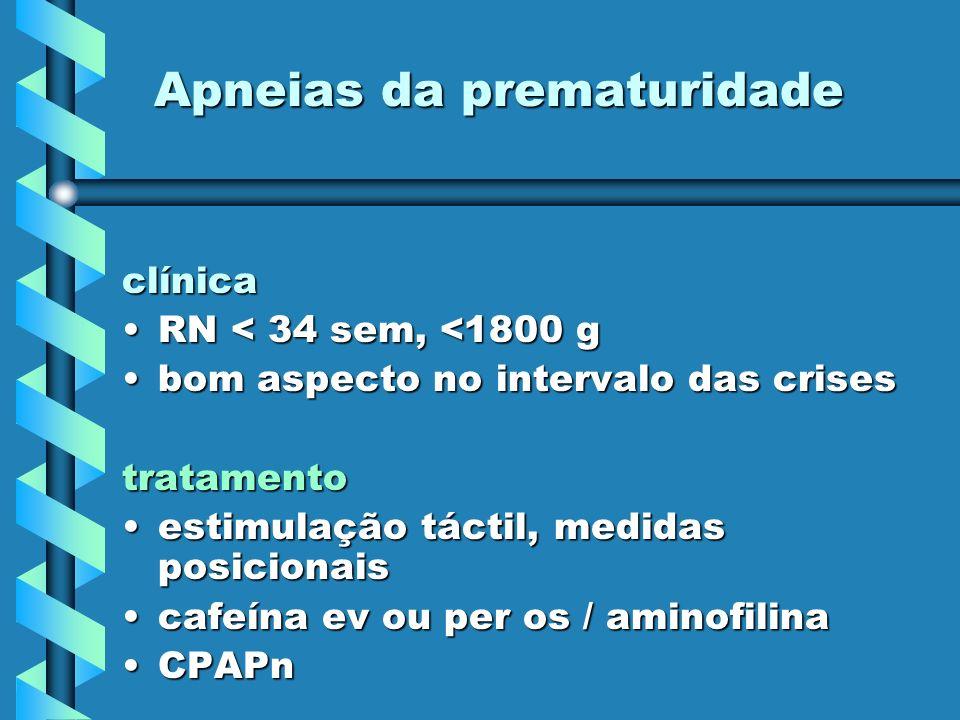 Apneias da prematuridade