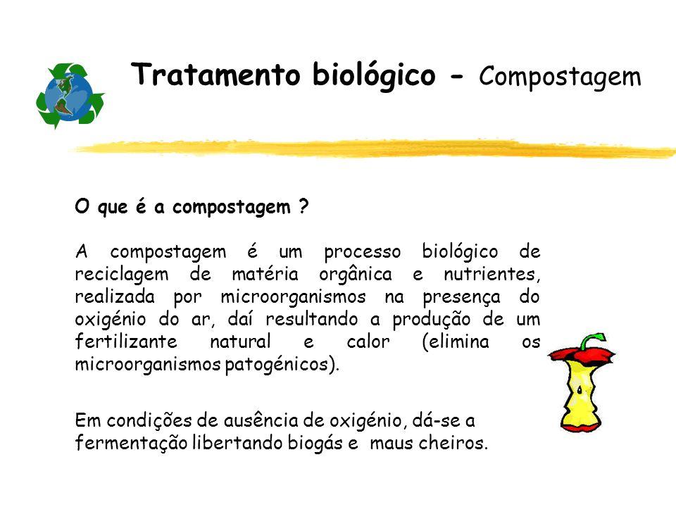 Tratamento biológico - Compostagem