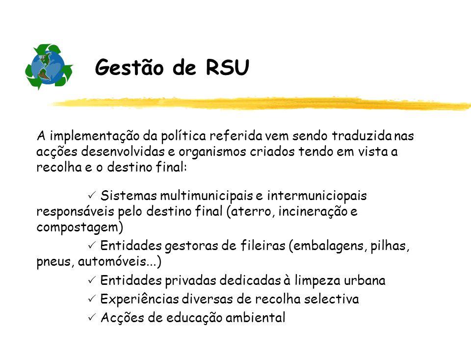 Gestão de RSU