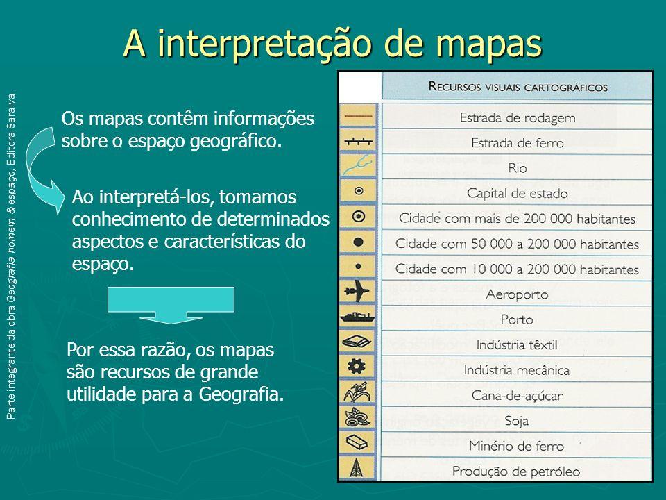 A interpretação de mapas