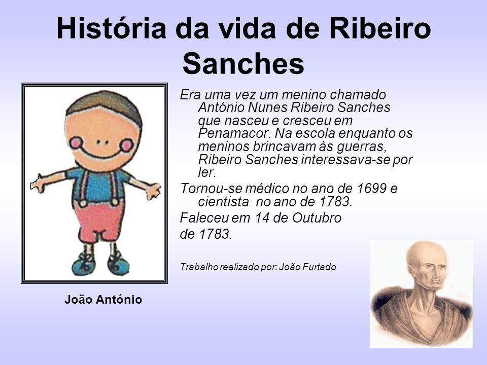 História da vida de Ribeiro Sanches