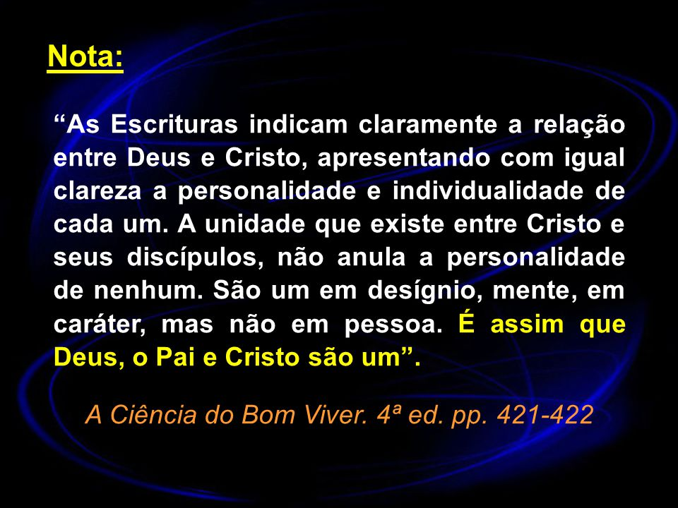 A Ciência do Bom Viver. 4ª ed. pp. 421-422