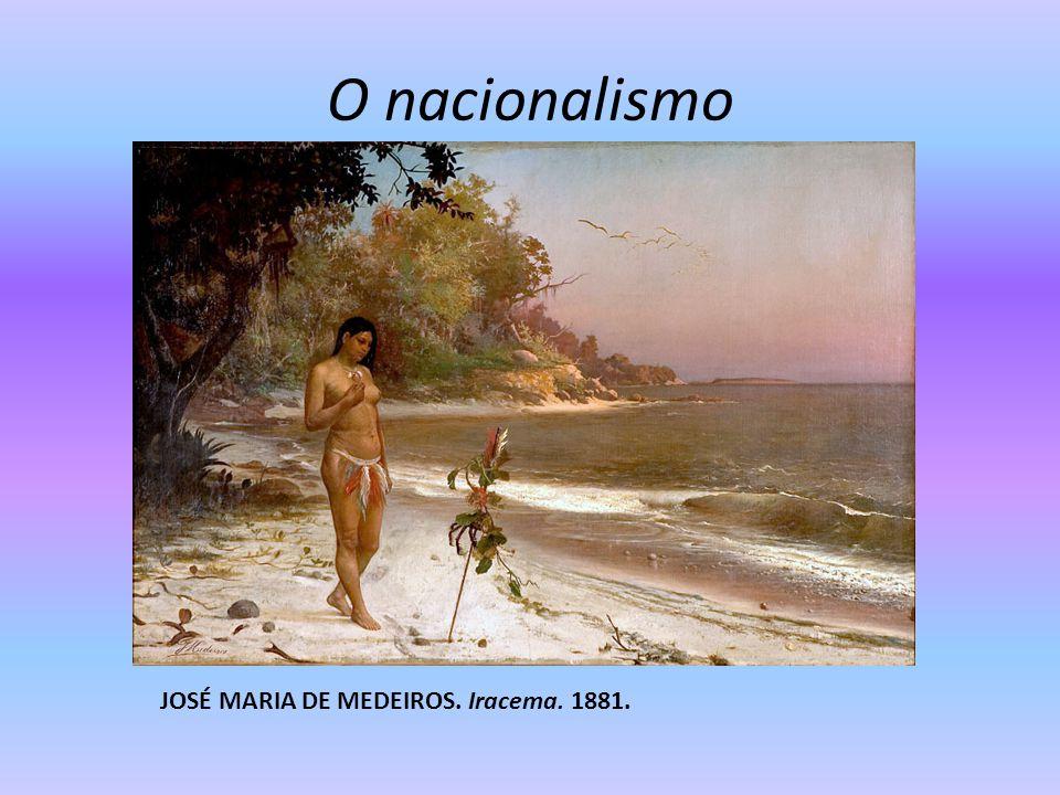 O nacionalismo JOSÉ MARIA DE MEDEIROS. Iracema. 1881.