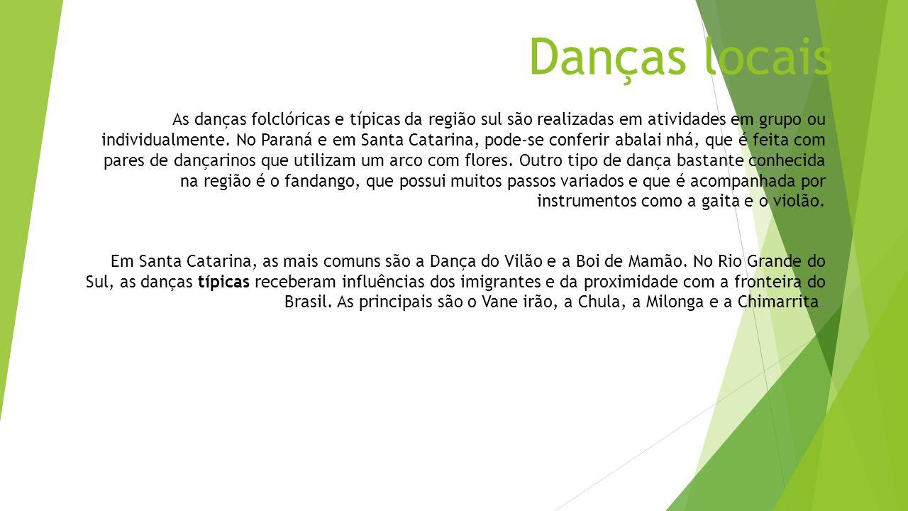 Danças locais