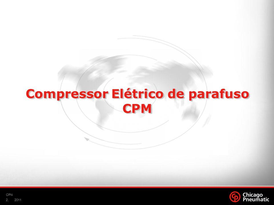 Compressor Elétrico de parafuso