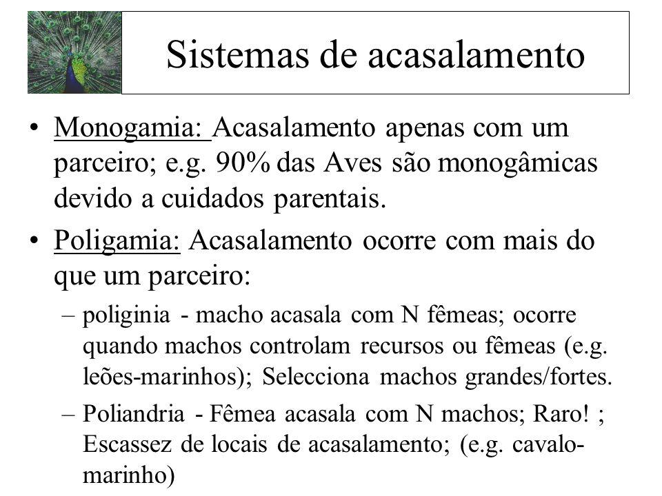 Sistemas de acasalamento