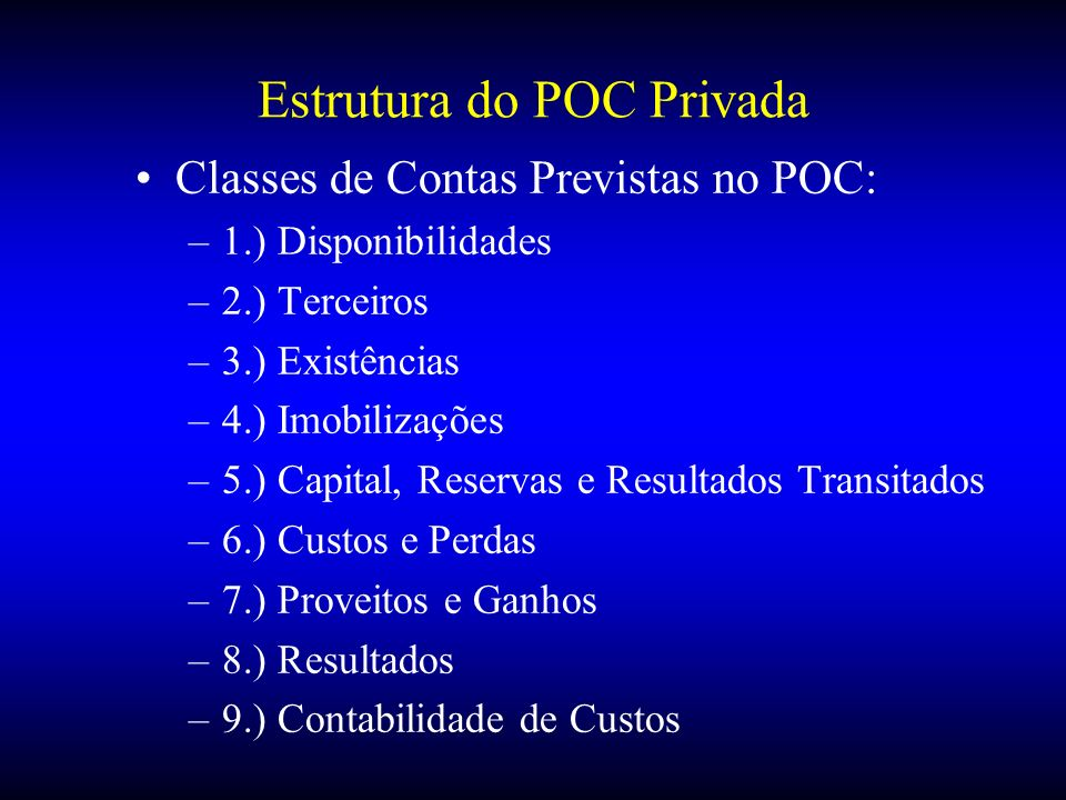 Estrutura do POC Privada