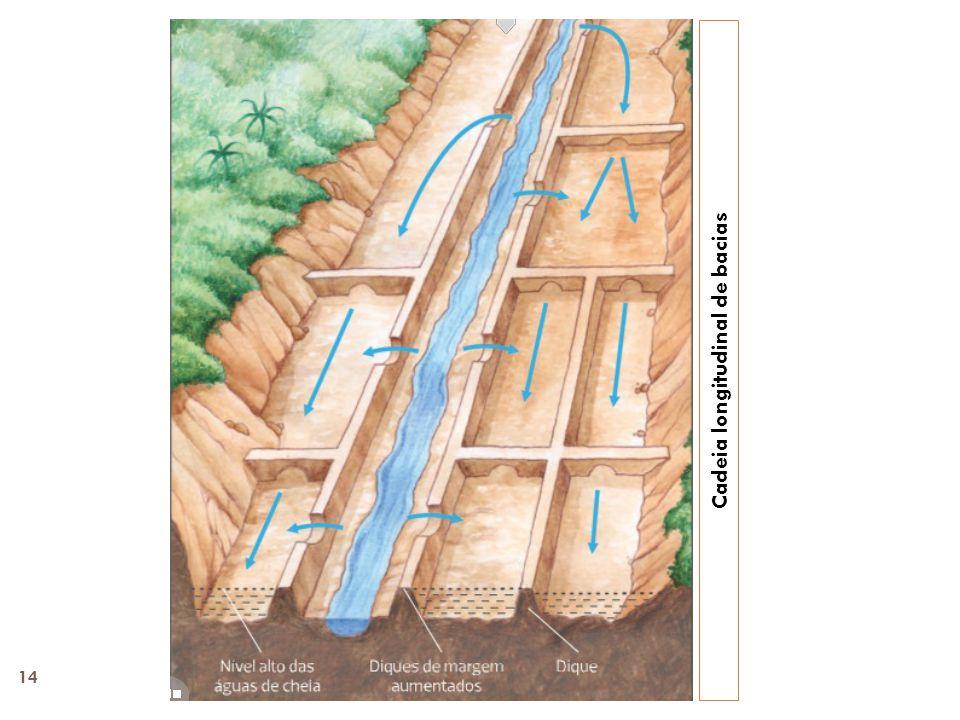 Cadeia longitudinal de bacias