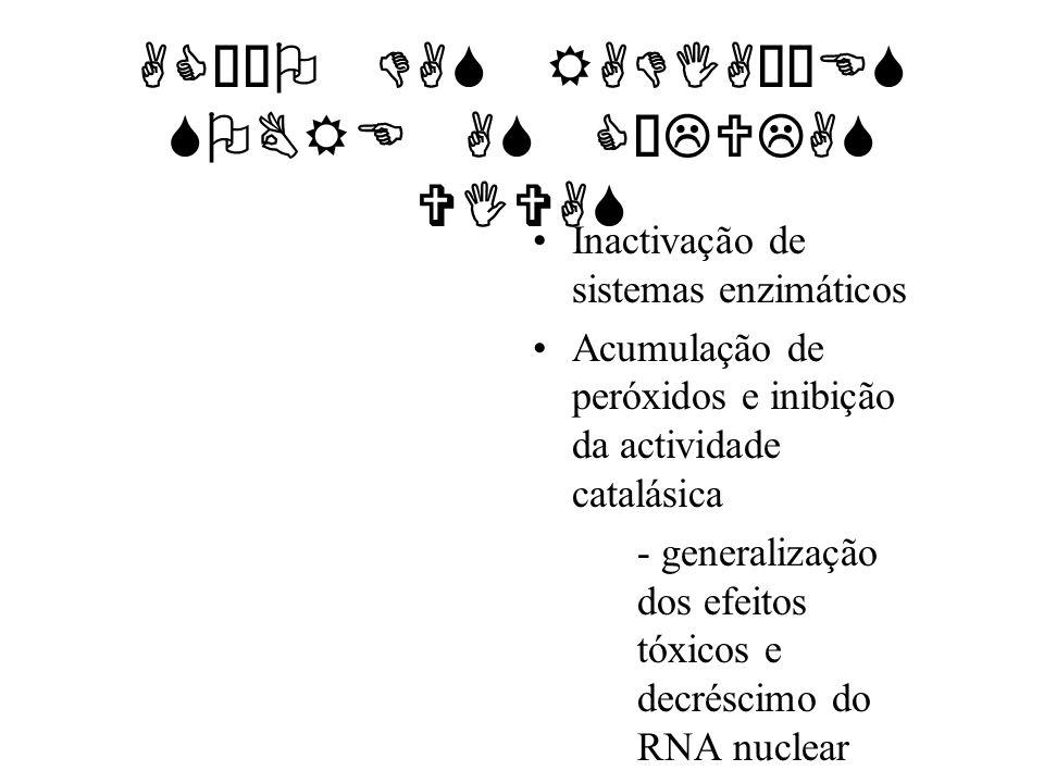 ACÇÃO DAS RADIAÇÕES SOBRE AS CÉLULAS VIVAS