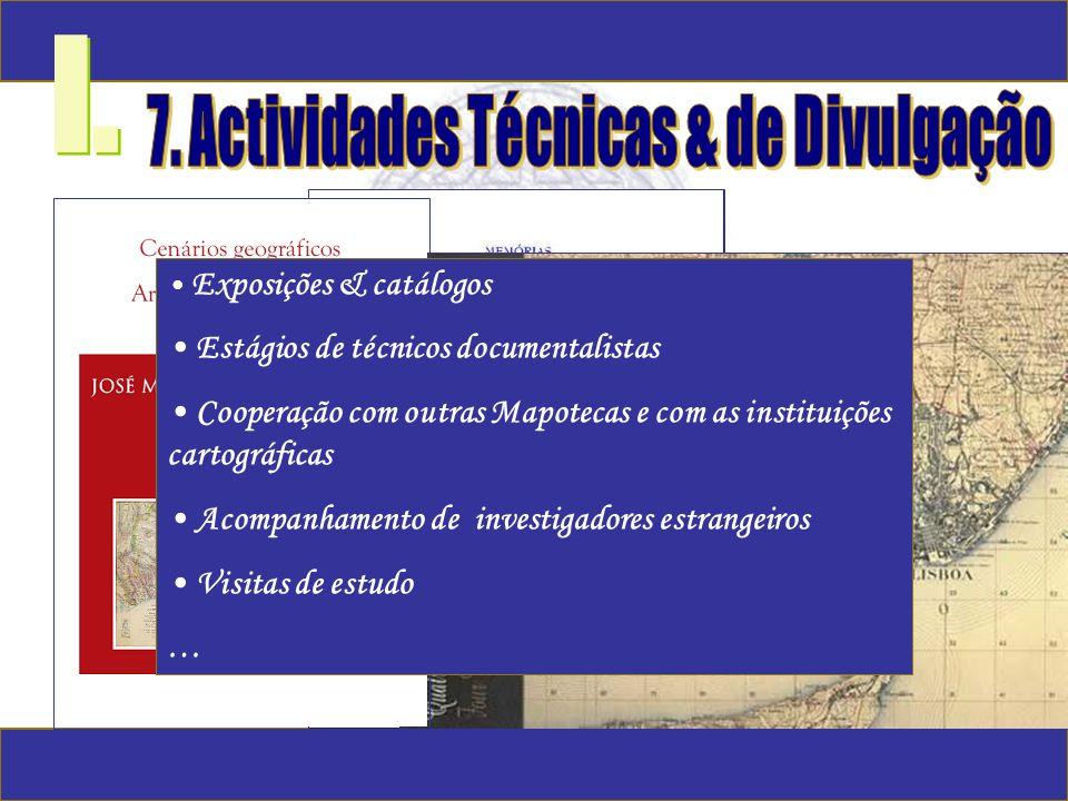 7. Actividades Técnicas & de Divulgação