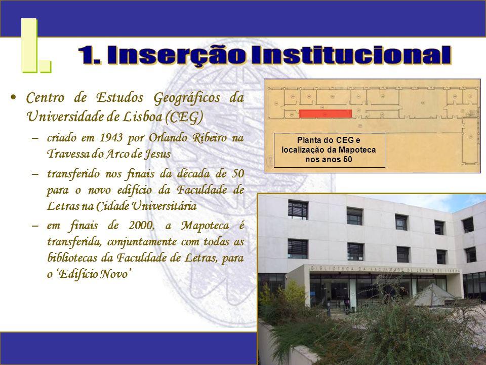 I. 1. Inserção Institucional
