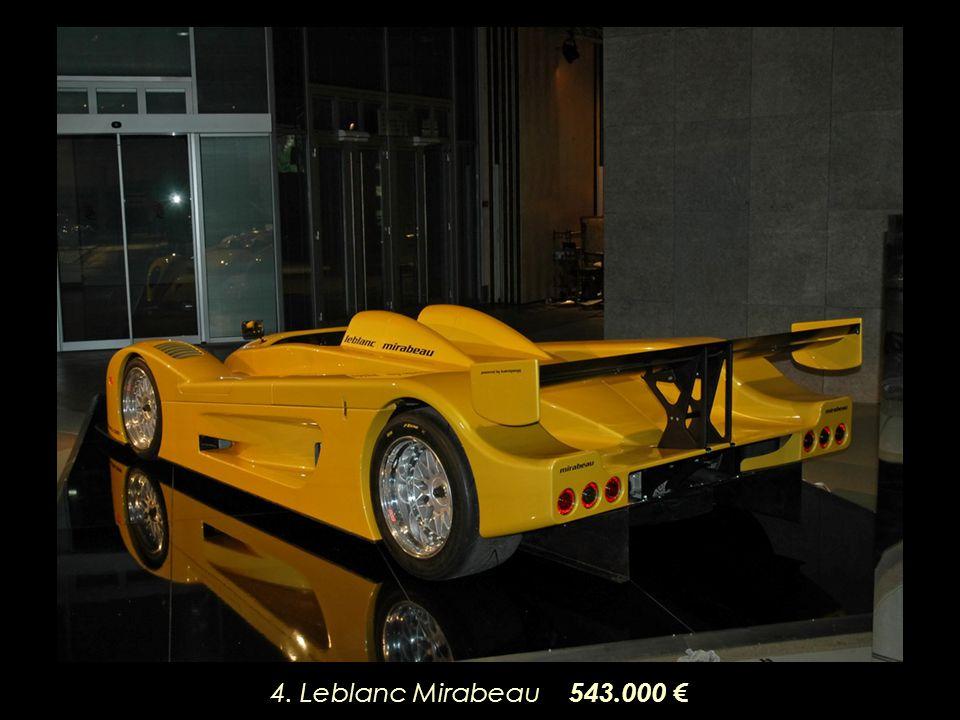 4. Leblanc Mirabeau 543.000 €