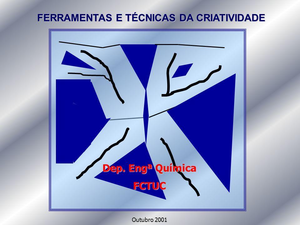 FERRAMENTAS E TÉCNICAS DA CRIATIVIDADE