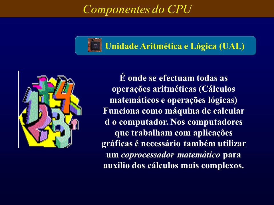 Unidade Aritmética e Lógica (UAL)