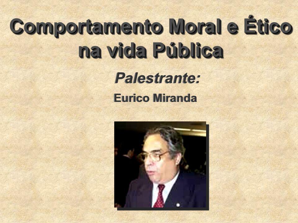 Comportamento Moral e Ético