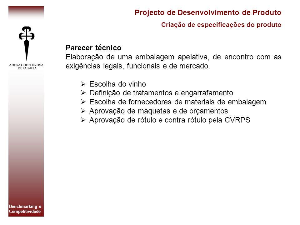 Projecto de Desenvolvimento de Produto