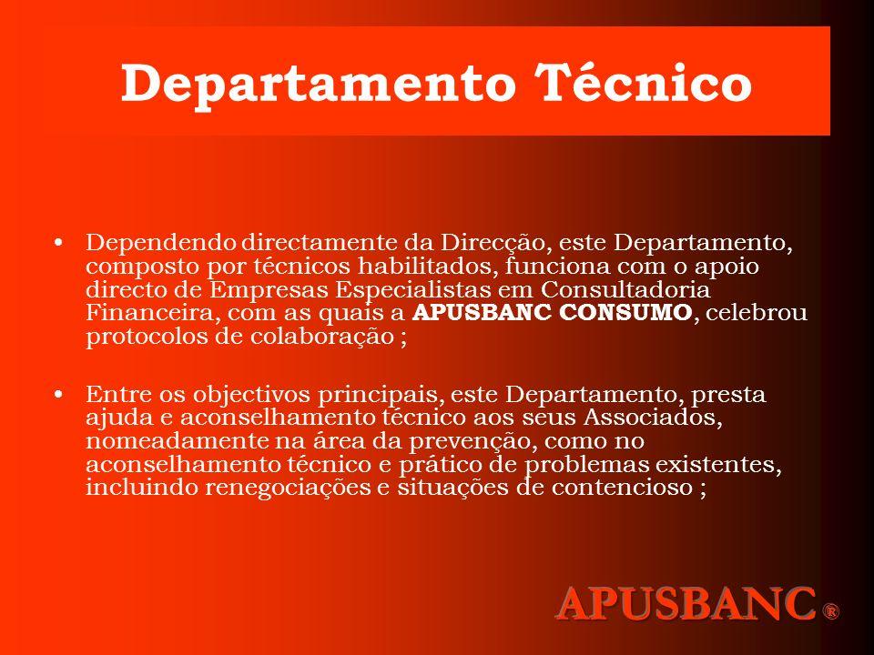 Departamento Técnico APUSBANC ®