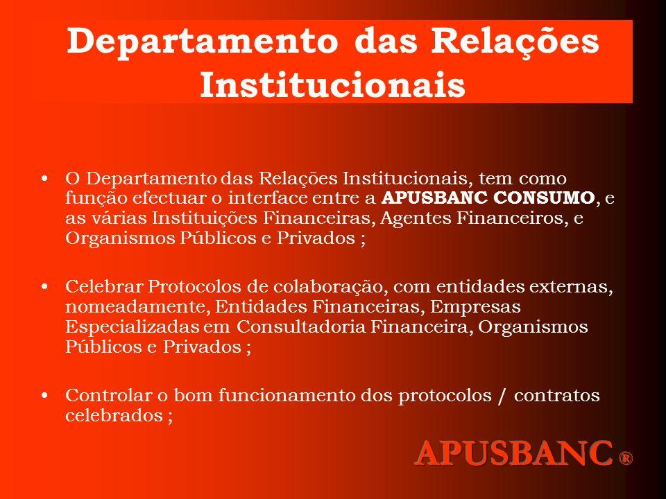 Departamento das Relações Institucionais