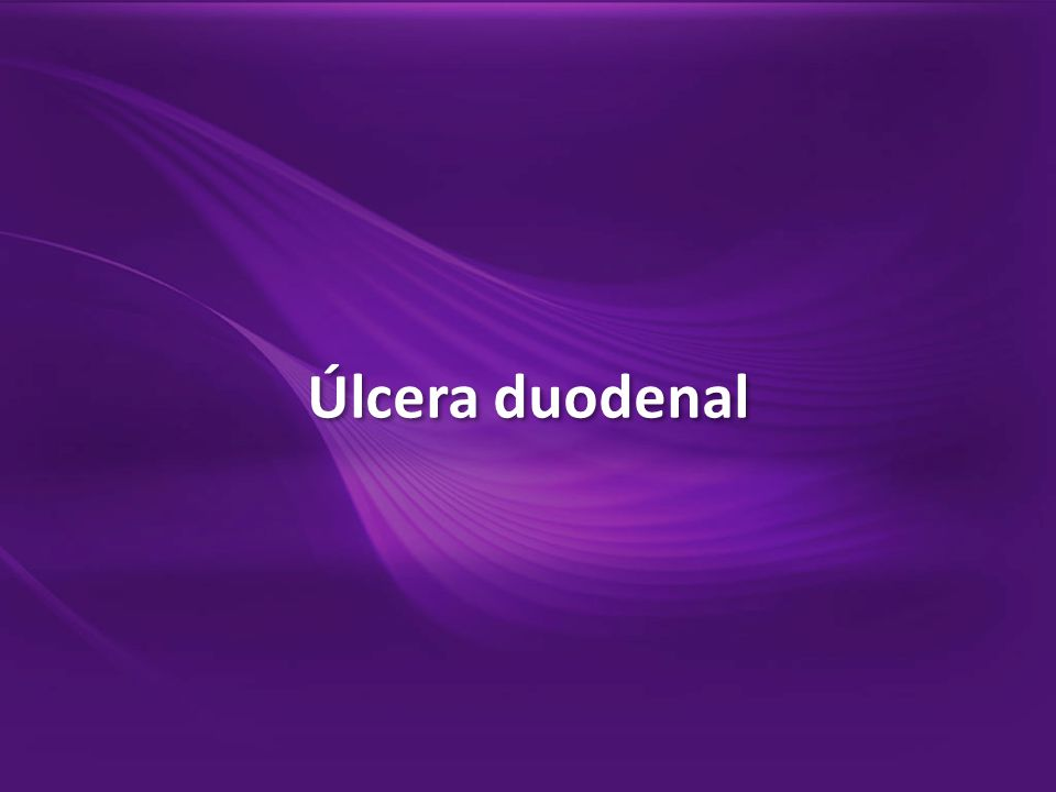 Úlcera duodenal