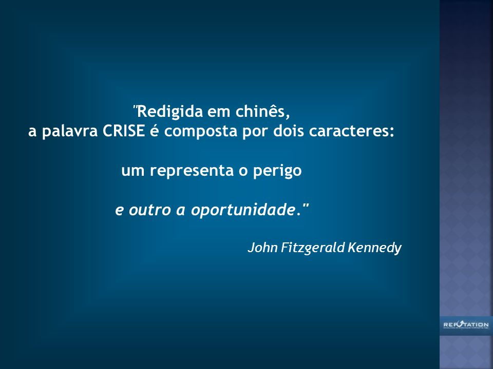 a palavra CRISE é composta por dois caracteres: