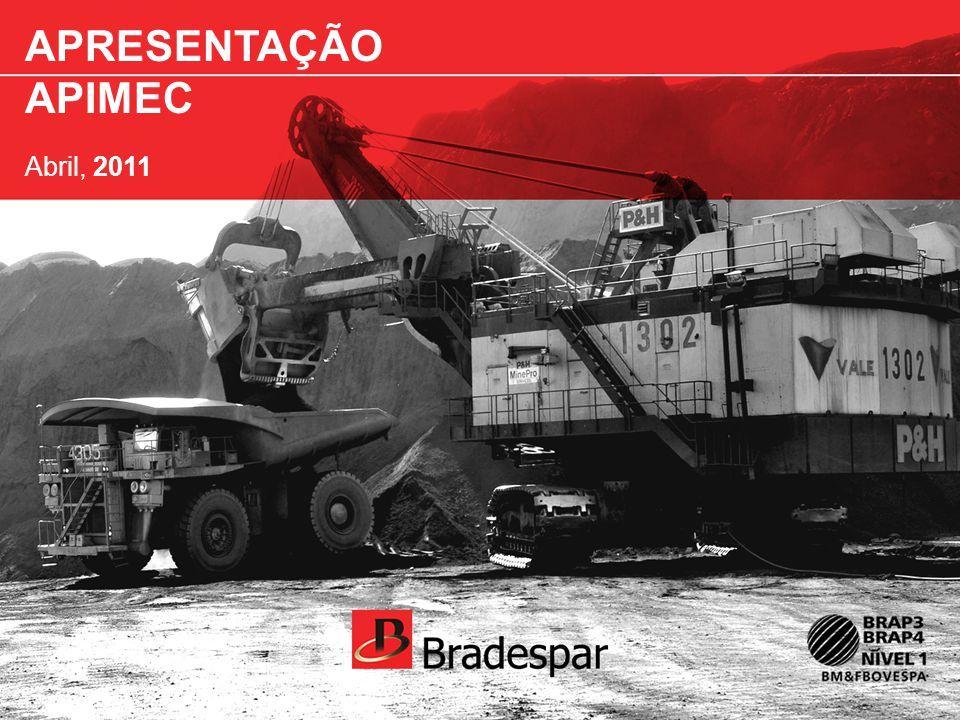 APRESENTAÇÃO APIMEC Abril, 2011