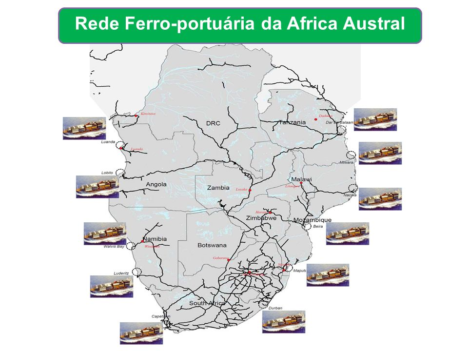 Rede Ferro-portuária da Africa Austral