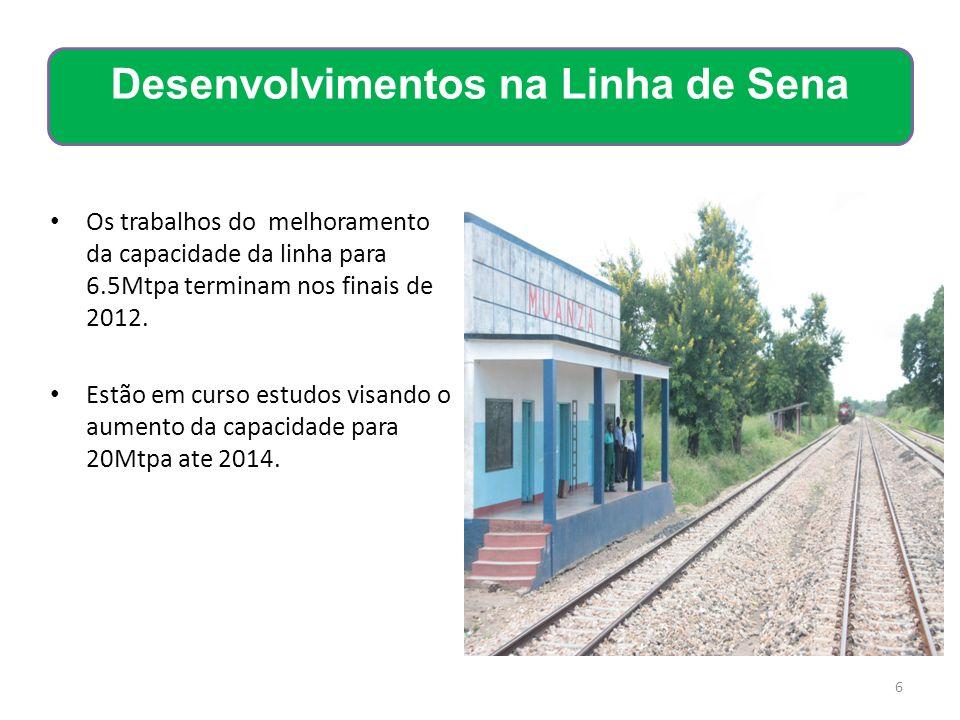 Desenvolvimentos na Linha de Sena