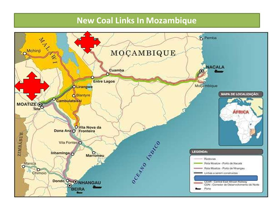 New Coal Links In Mozambique