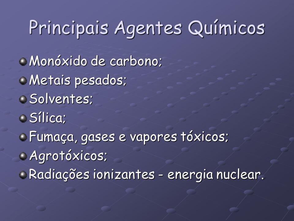 Principais Agentes Químicos