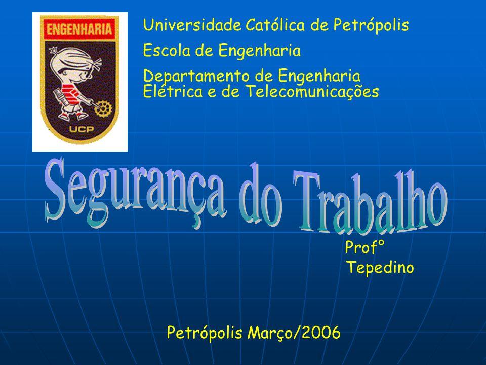 Segurança do Trabalho Universidade Católica de Petrópolis
