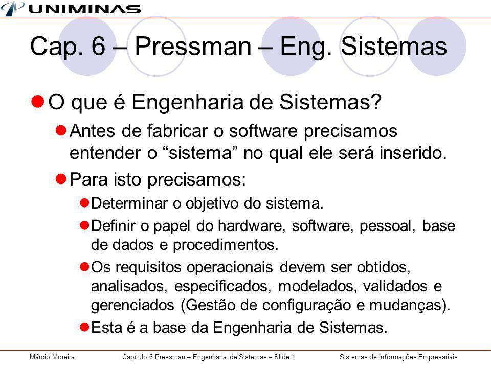 Cap. 6 – Pressman – Eng. Sistemas