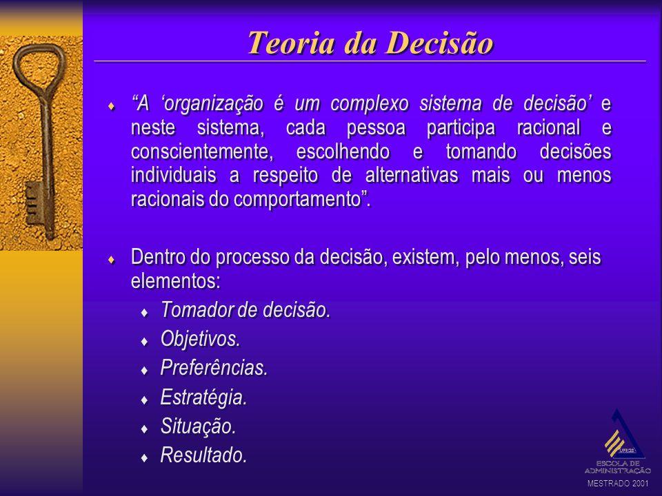 Teoria da Decisão