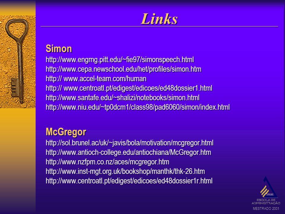 Links Simon. http://www.engrng.pitt.edu/~fie97/simonspeech.html. http://www.cepa.newschool.edu/het/profiles/simon.htm.