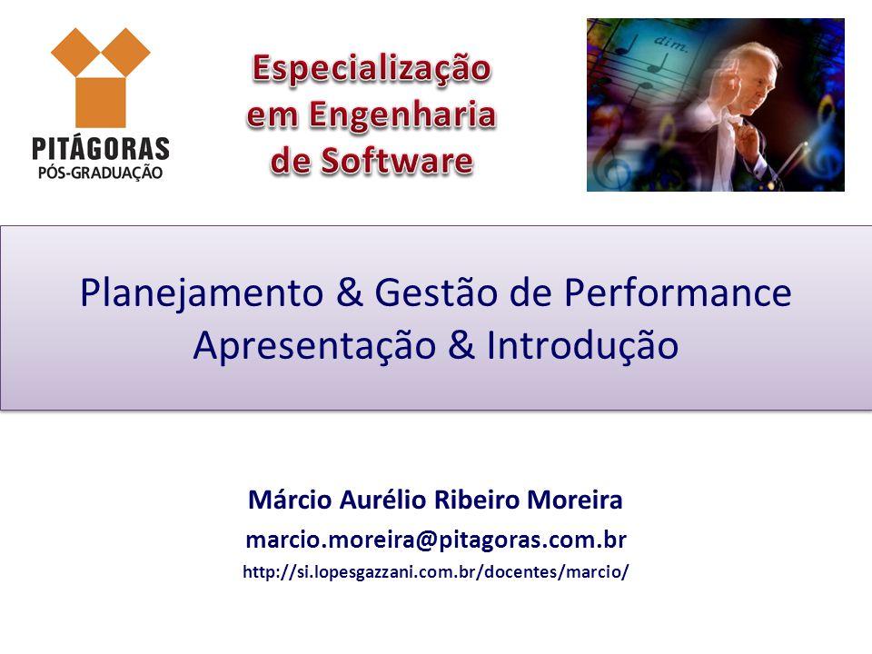 Planejamento & Gestão de Performance Apresentação & Introdução