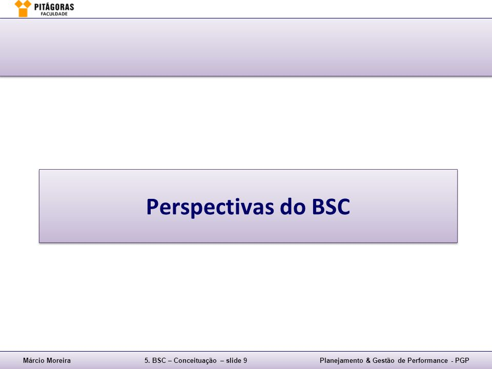 Perspectivas do BSC