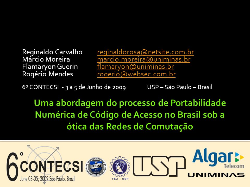 Reginaldo Carvalho reginaldorosa@netsite.com.br