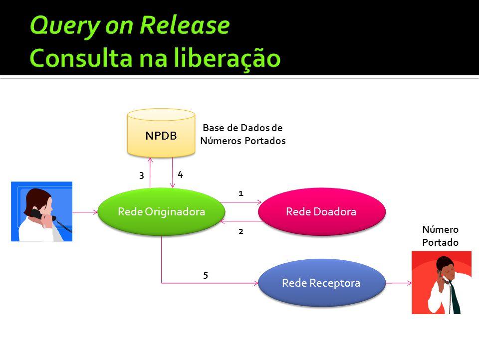 Query on Release Consulta na liberação