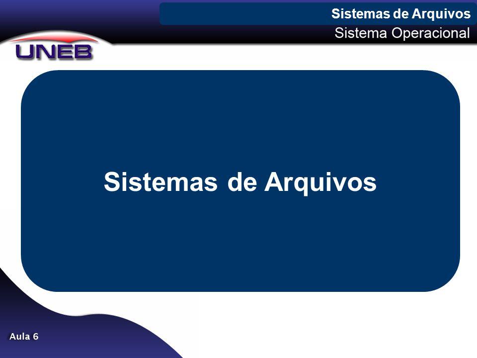Sistemas de Arquivos Sistemas de Arquivos