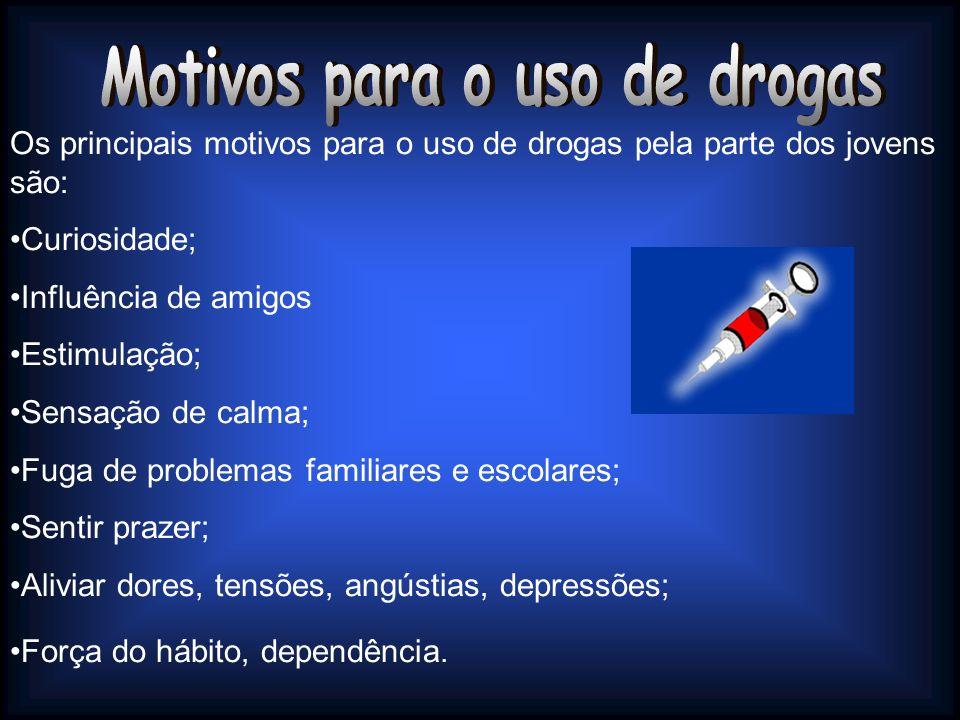Motivos para o uso de drogas
