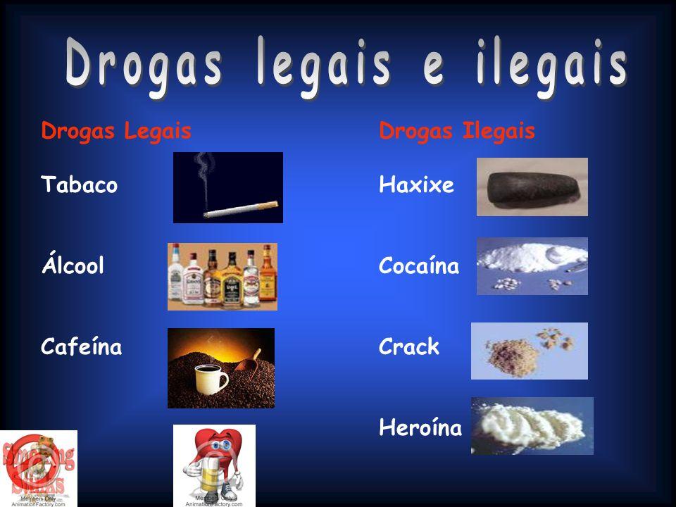 Drogas legais e ilegais